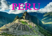 Best Spots To Visit In Peru