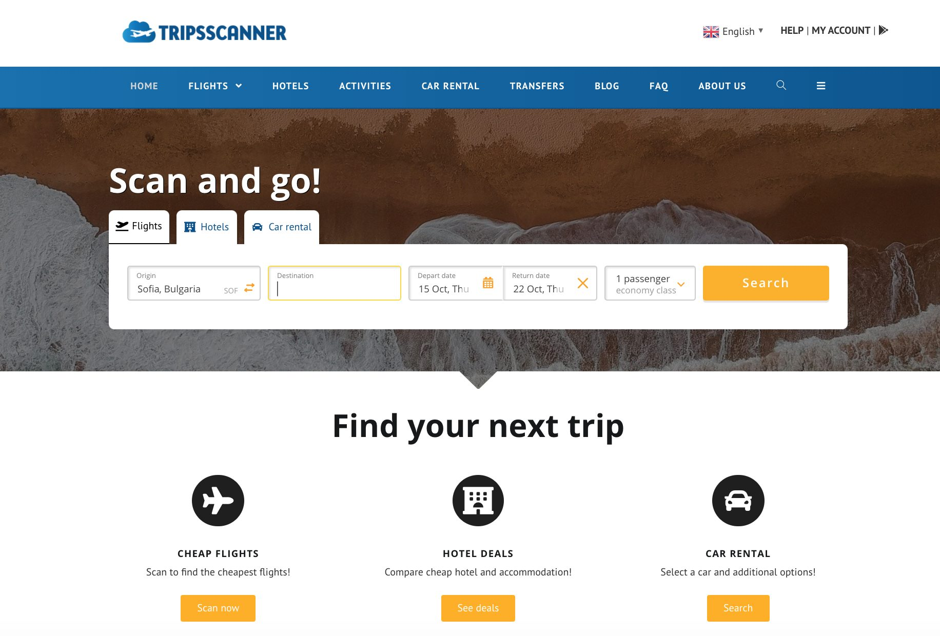 Tripsscanner